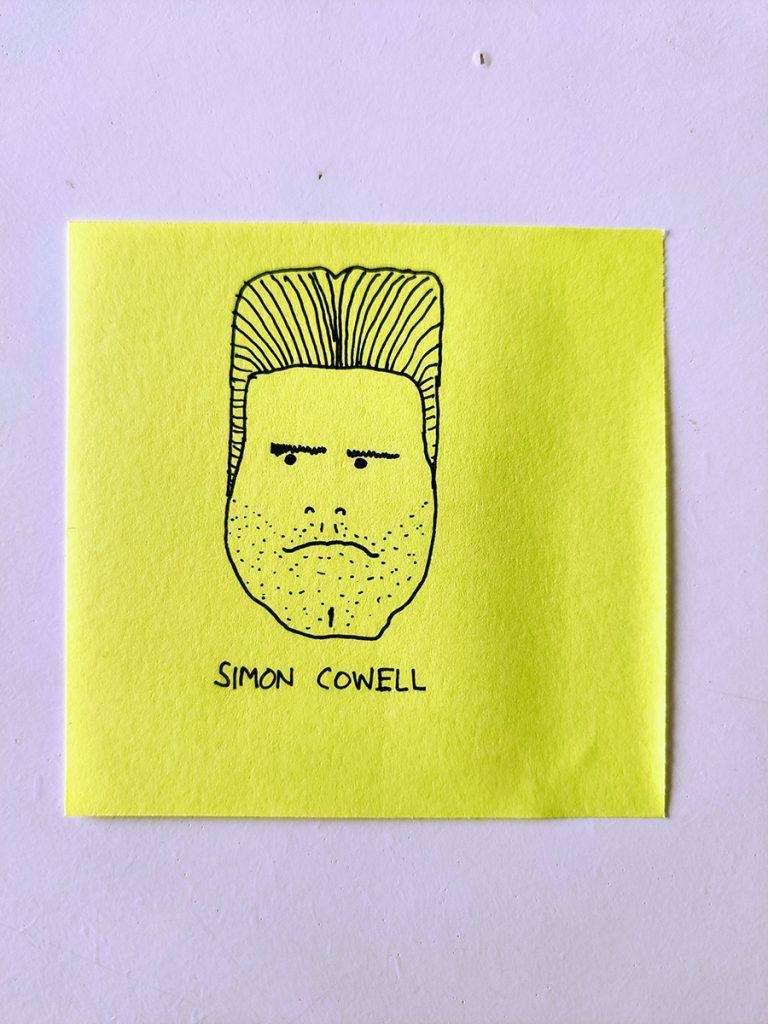Simon Cowell 'Portrait'